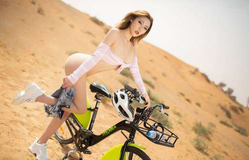 性感模特萌汉药baby沙漠户外全裸大尺度大胆高清诱惑写真集