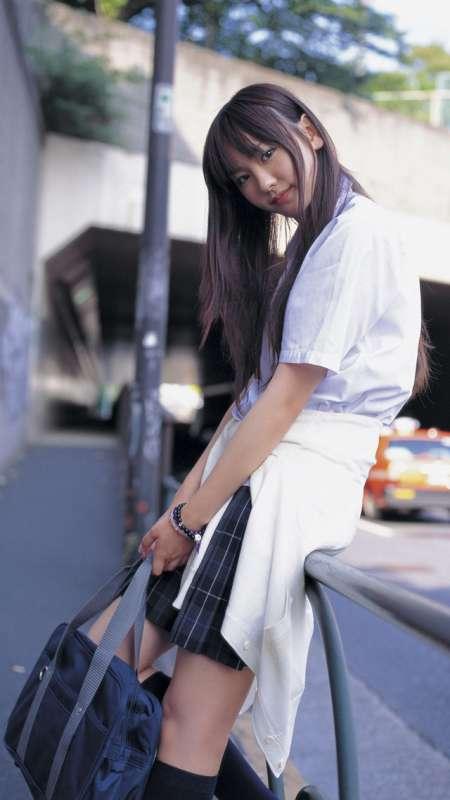 日本清纯女星新垣结衣高清写真手机壁纸