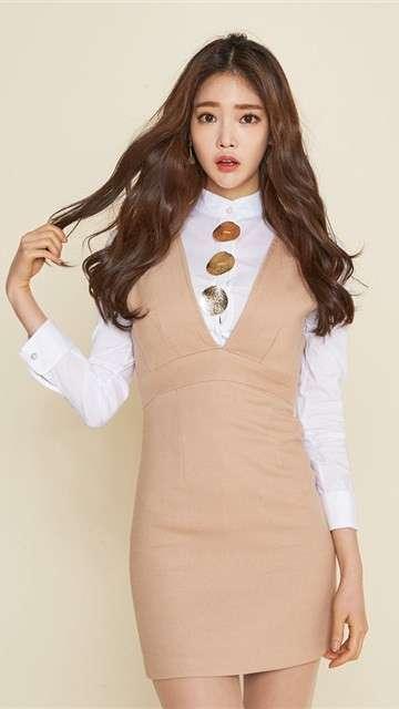 韩国美女ol制服写真安卓壁纸