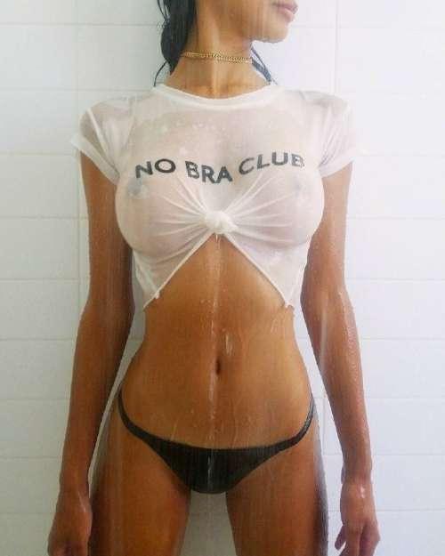 欧美健身超模湿身露乳头图片翘臀诱惑