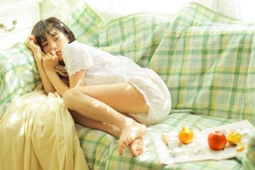 草莓少女心粉色系壁纸,甜美少女草莓系写真