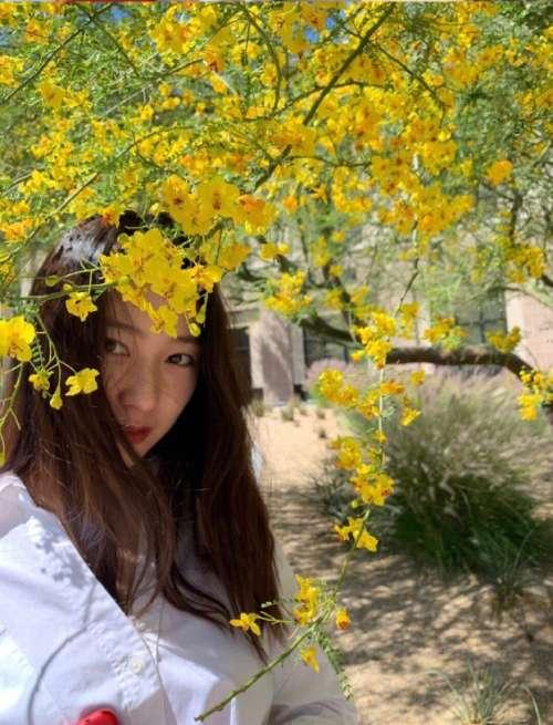 亚洲美女图片 韩国美女明星郑秀晶私服图片