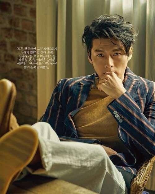韩国男明星帅哥玄彬杂志《ARENA》4月号画报图片