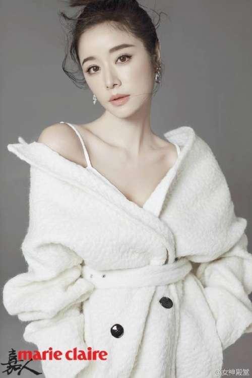 台湾美女林心如嘉人杂志拍的写真,很仙很美