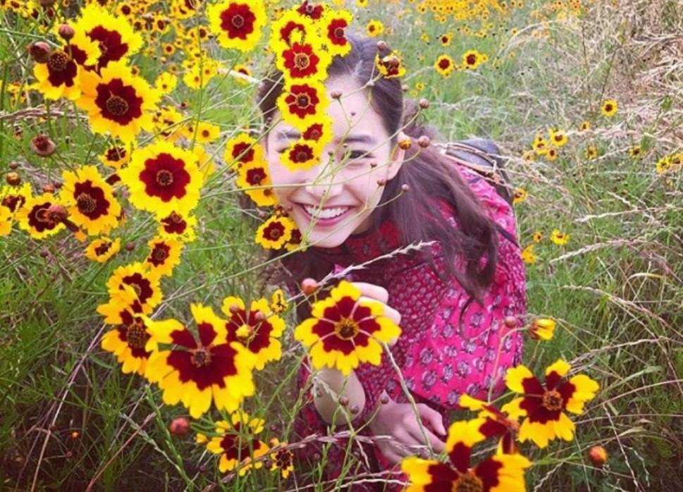 笑起来超漂亮的日本美女明星新木优子图片