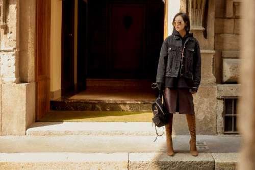 中国美女图片_Jimmy Choo代言人女明星宋茜街拍图片