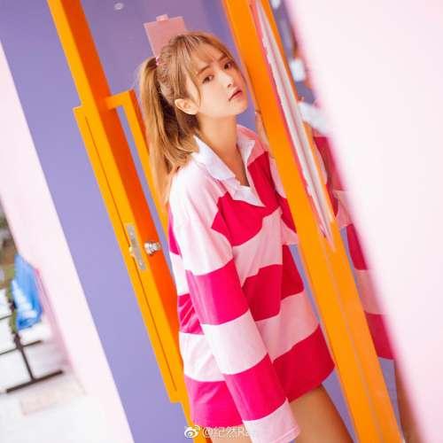 很高兴遇见你Pink girlLikeGirls-窦鹤鑫清纯美女图片