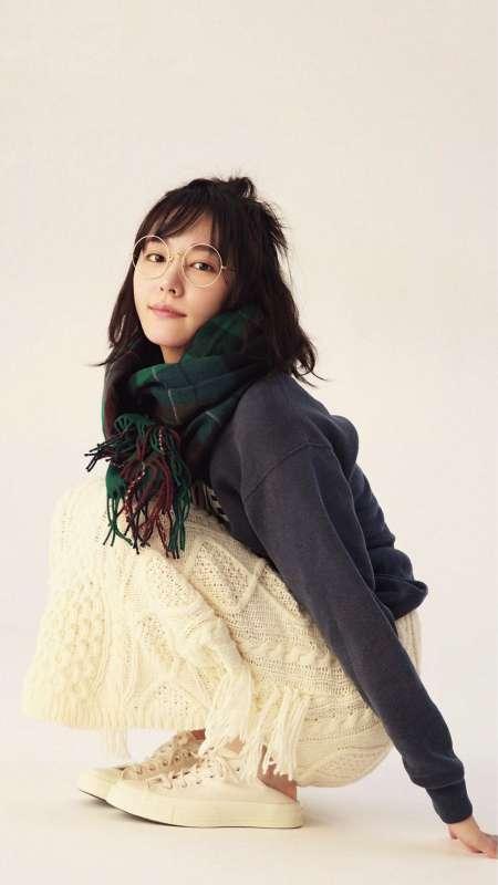 日本影视明星新垣结衣手机壁纸图片