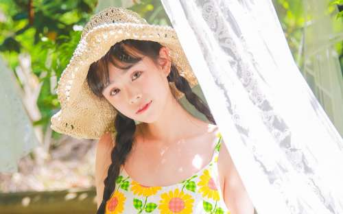 娃娃脸美女壁纸高清可爱,娃娃脸漂亮女生写真
