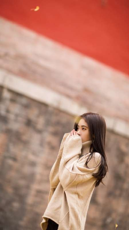 鞠婧祎清纯性感写真图片手机壁纸