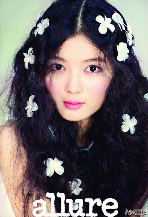 韩国女童星金有贞迷人写真集_金有贞图片