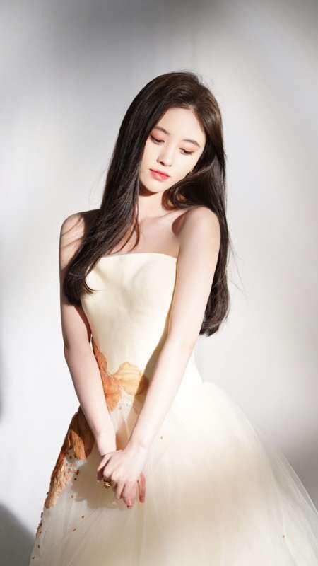 鞠婧祎性感甜美写真图片手机壁纸
