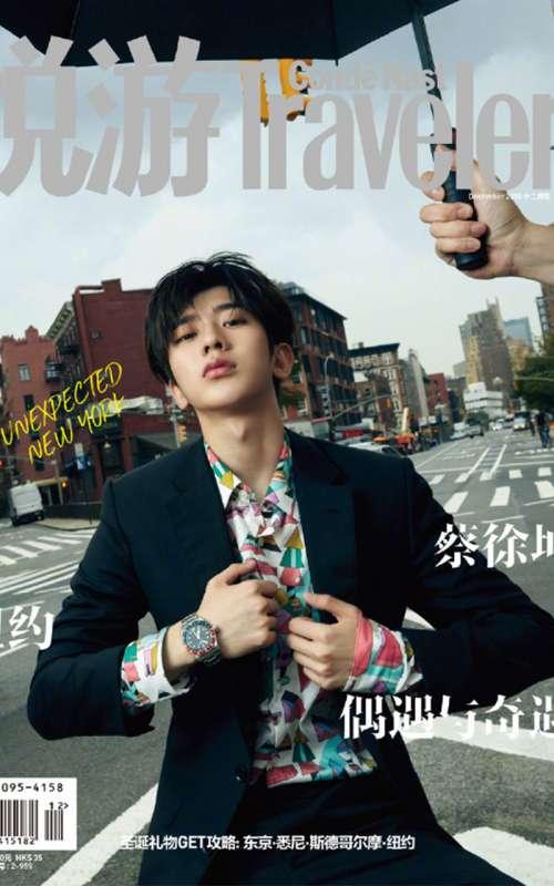 蔡徐坤纽约时尚个性街拍写真图片手机壁纸