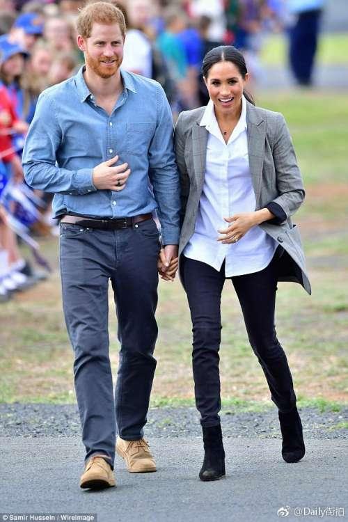 英国王室哈里王子和Meghan Markle澳大利亚拜访之旅