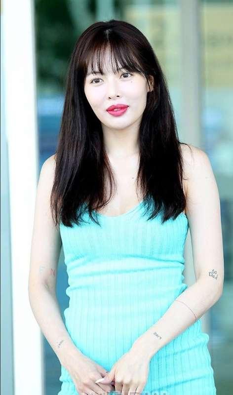 韩国女歌手金泫雅清新图片 韩国美女图片