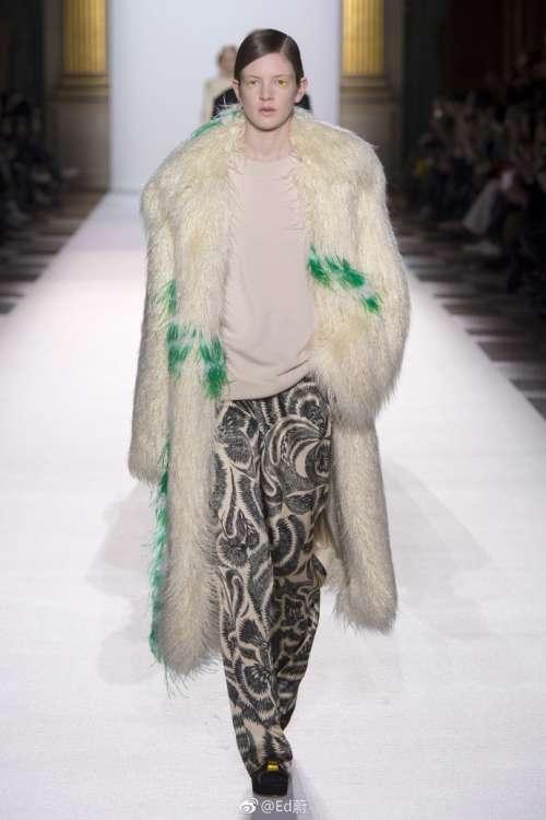 欧美时尚品牌Dries Van Noten2018巴黎时装周皮草主题