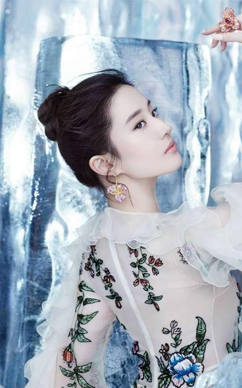 美女明星刘亦菲唯美写真手机壁纸