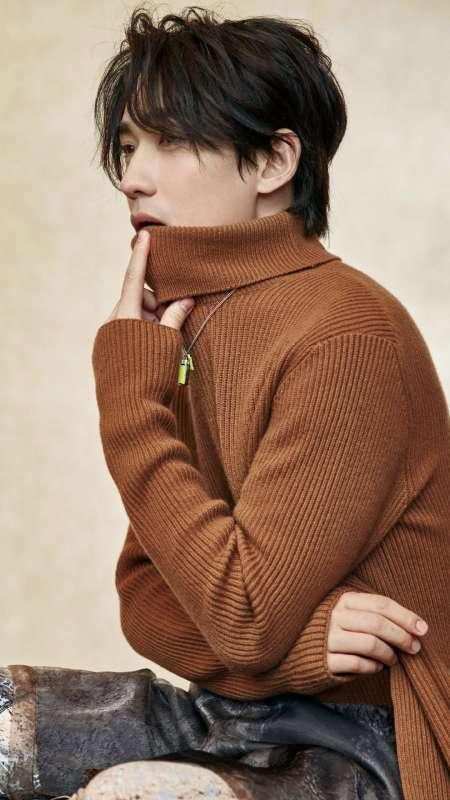 朱一龙时尚帅气写真图片手机壁纸