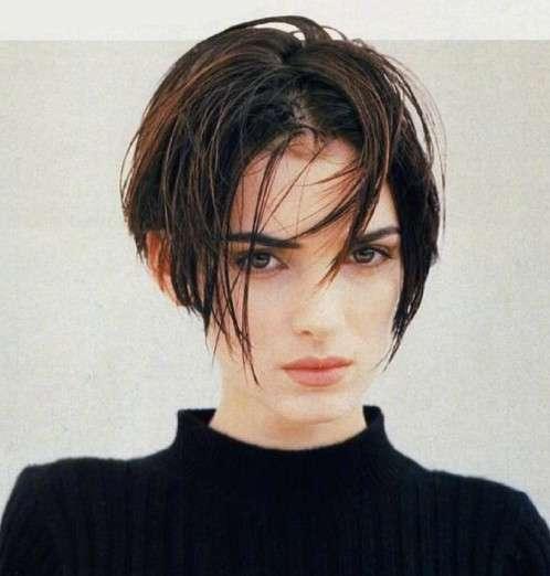 性感又可爱的欧美美女薇诺娜·瑞德短发图片