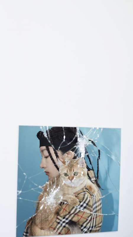 周冬雨时尚性感写真图片手机壁纸