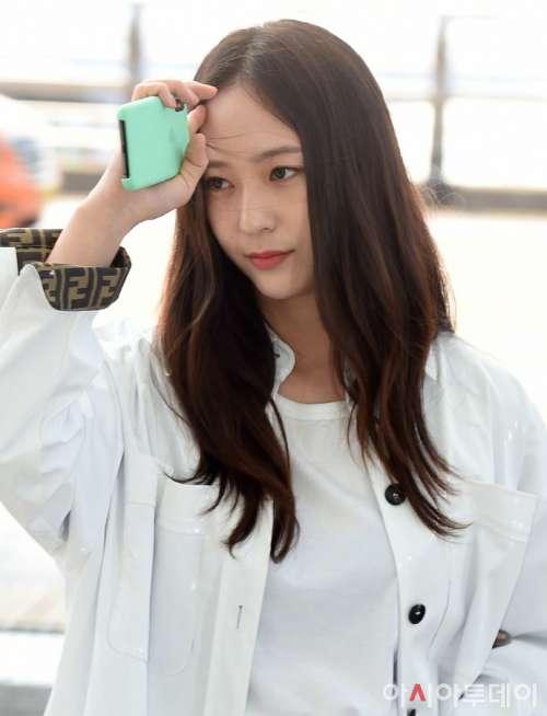 韩国美女图片 韩国电影女明星郑秀晶图片