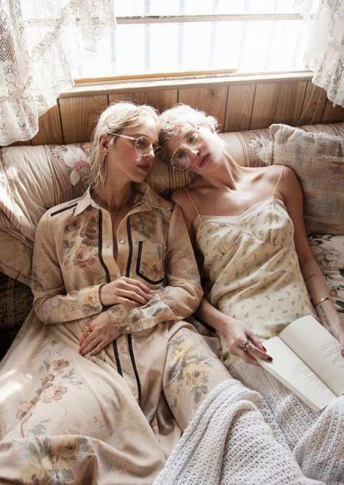Myself Germany杂志大片Taylor Bagley & Laura Mayerhofer图片