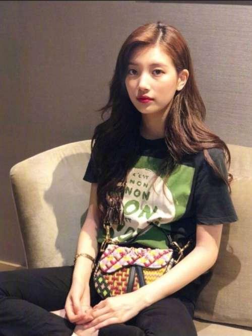 韩国美女明星裴秀智舒服自然的私照合集日常3