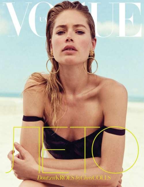 Vogue Ukraine June乌克兰版《Vogue》六月刊Doutzen Kro