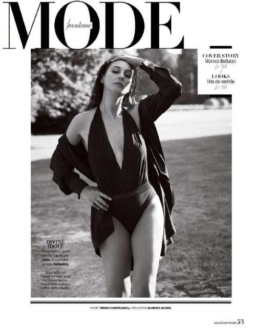 意大利美女图片 女演员莫妮卡·贝鲁奇《Madame