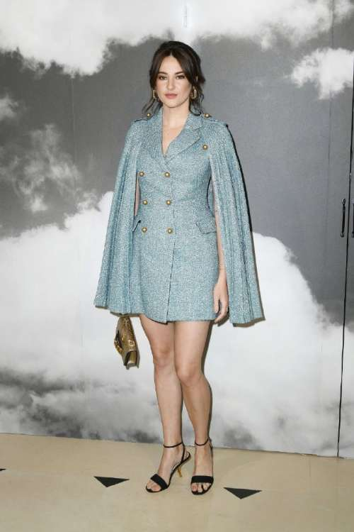 美国美女图片 欧美女演员Shailene Woodley现身巴黎时
