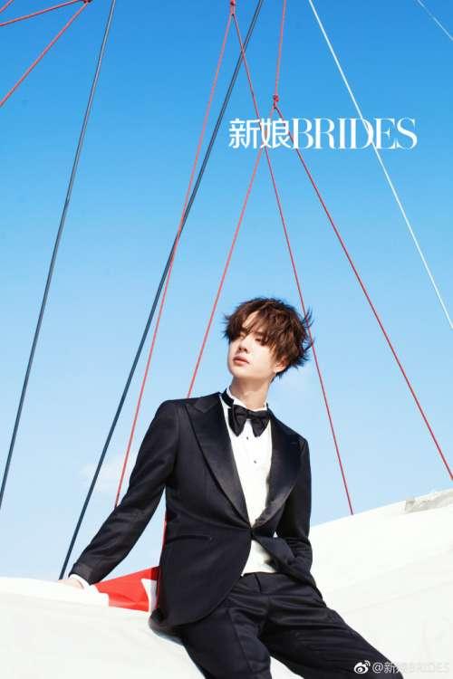 《新娘BRIDES》四月刊封面人物UNIQ成员王一博图片