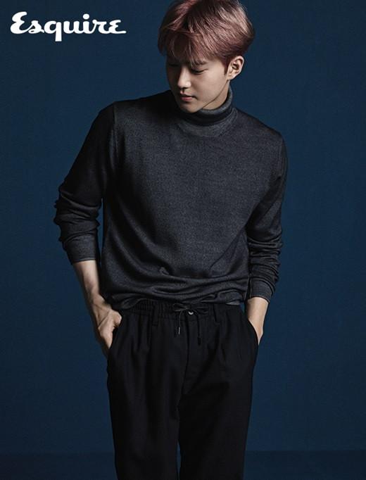 exo成员SUHO金俊勉韩国杂志《Esquire》九月刊大片