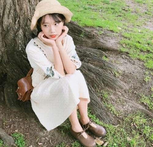 韩国甜美系美女自然清新感图片