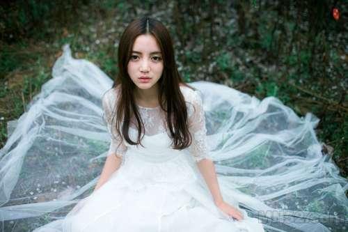 清纯天使丛林唯美写真照